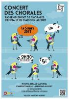 Affiche chorales 17